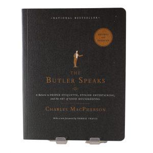 The Butler Speaks