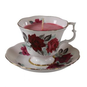 Victorian Kitchen Teacup Candle