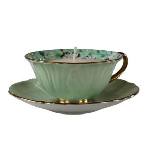 Granny Smith Apple Teacup-Candle