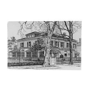 Eldon House Sideview Postcard