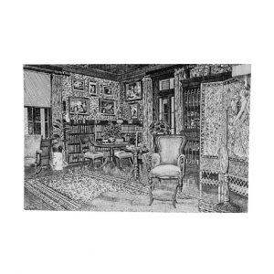 Eldon House Library Postcard
