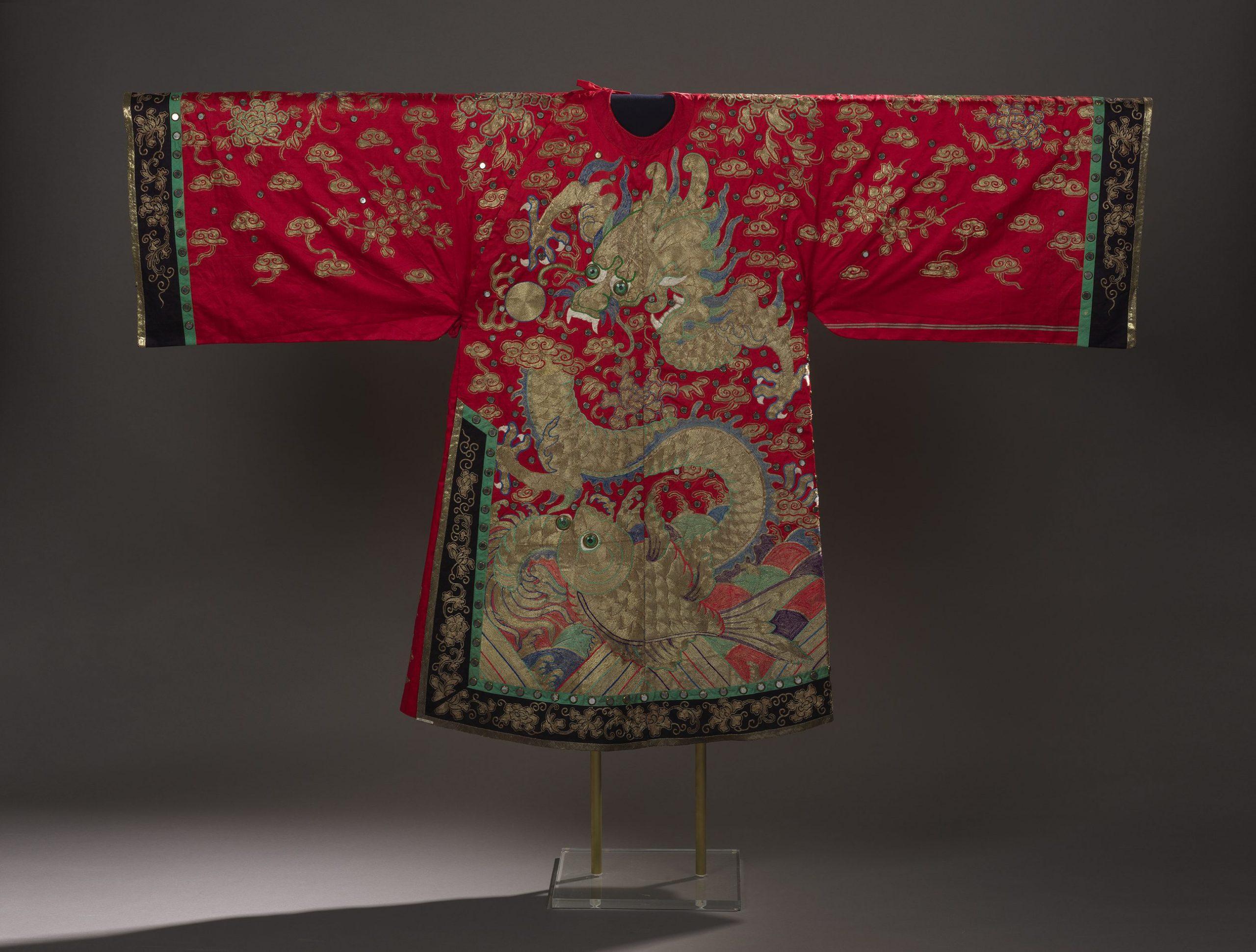 Dragon Robe at the Royal Ontario Museum